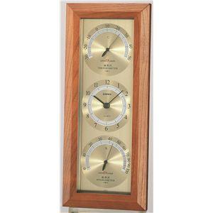 スーパーEX温度・時計・湿度計 EX-741